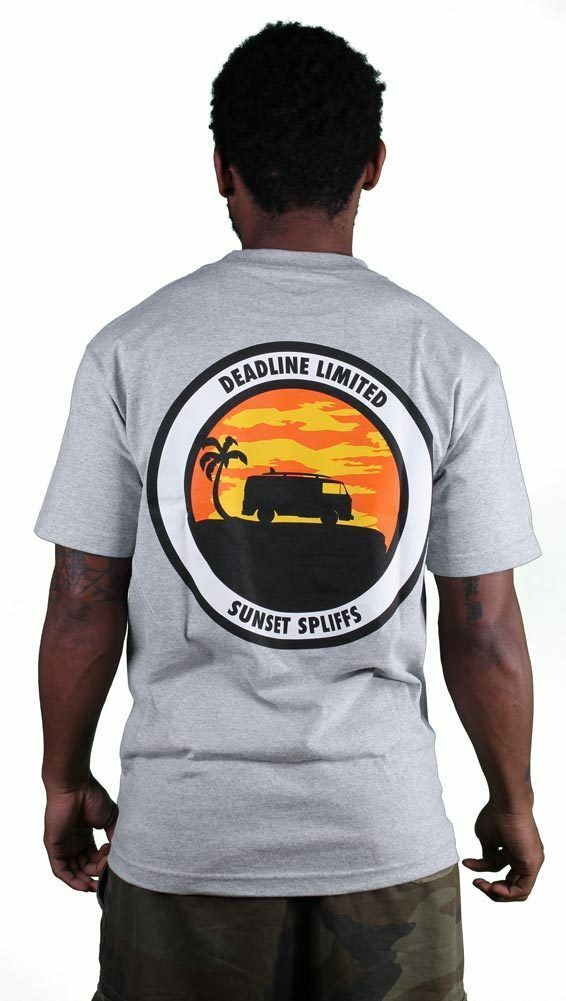 Deadline Sunset Spliffs T-Shirt