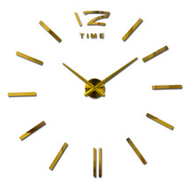 3d Home Decor Quartz Wall Clock - $59.95