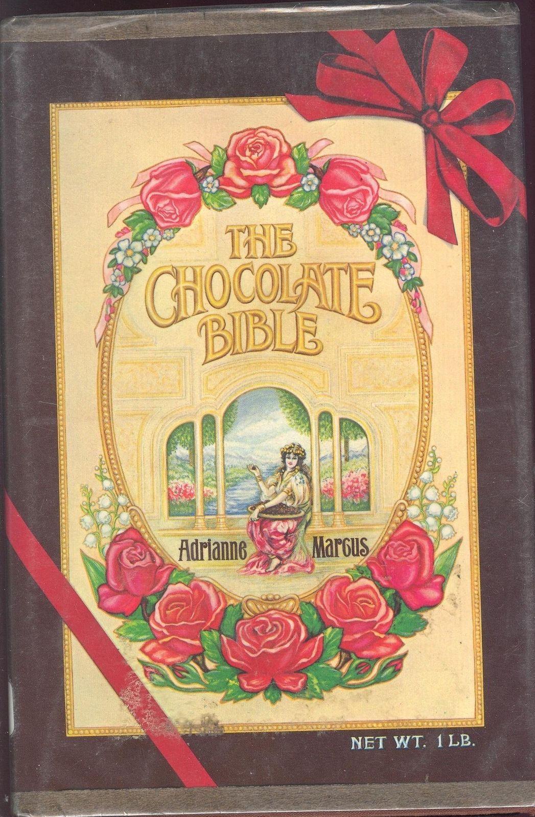 The Chocolate Bible Adrianne. Marcus HC 1979