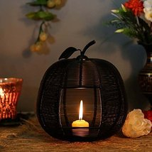 BLACK APPLE CLASSIC CANDLE HOLDERHAND CUT INDIAN DECORATIVE WEDDING GIFT... - $63.36