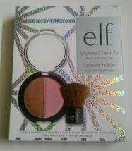 E.L.F Cosmetics Bronzed Beauty Blush & Bronzer Set - $13.59