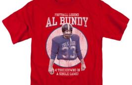 Married with Children Al Bundy Football legend Polk High graphic tee SONYT133 image 2
