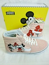Vans Disney Mens Sk8-Hi Mickey & Minnie 90th Anniversary Pink Shoes Size... - £99.07 GBP