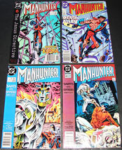 4 1989-90 DC Comics MANHUNTER 14VG, 15F, 19F, 22F Comic Books JANUS DIRE... - $12.99