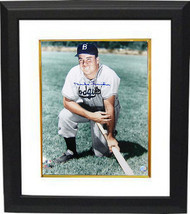 Duke Snider signed Brooklyn Dodgers 16x20 Photo Custom Framed (color on ... - $159.00