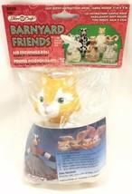 Fibre Craft #3029 Barnyard Friends Air Freshener Doll Orange Cat 1995 - $24.45