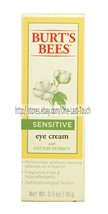 Burt's Bees Fragrance Free Sensitive Eye Cream Cotton Extract .5 Oz Moisturizes - $14.84