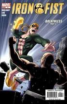 Iron Fist #6 - Breathless Part 6, Marvel Comic - $5.93