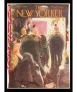 COVER ONLY The New Yorker April 7 1956 Full Cover Theme by Garrett Price - $37.97