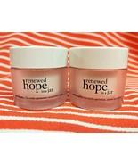 Philosophy RENEWED HOPE IN A JAR Face Moisturizer Cream Refreshing 2 x .... - $15.03