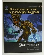 Pathfinder Revenge of the Kobold King D1.5 Module Paizo 5th Level D&D 3.... - $20.00