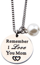 MAOFAED Remember I Love You Mom Dad Bracelet, Key Chain Father's Day Jew... - $31.17