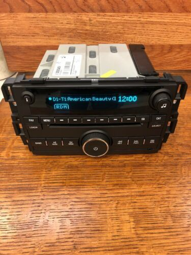 GM Chrysler Jeep Dodge 6 DISC CD Player Radio Mechanism MECH Replacement DELCO