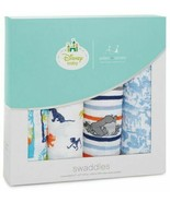 New NWT Aden + Anais Disney Baby Jungle Book Muslin Swaddle Blanket 4 Pa... - $39.59