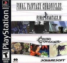 New! Final Fantasy Chronicles PS1 IV PlayStation Chrono Trigger Free Shi... - $21.77