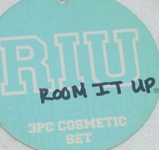 Room It Up Three Piece Cosmetic Toiletries Bags Small Medium Large image 7