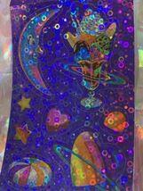 RARE FULL STRIP Lisa Frank Bubble Stickers COSMIC SUNDAE Vintage 90s Ice Cream image 3