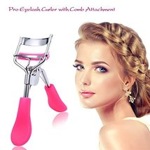 Eyelash Curler with Builtin Comb Lash Curlers Plus 5 Refill Pads Tool Tr... - ₨945.49 INR