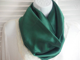 Spring Satin Infinity Scarves (5 different colors) Free Pin with Purchase - $15.00