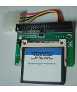 "64 Megabyte SSD Replace Vintage 3.5"" IDE Drives with 40 PIN IDE SSD Card - $24.95"