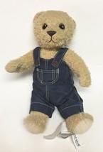 "IKEA Brumma Teddy Bear in Overalls Toy Stuffed Plush Toy 16"" L - $29.99"