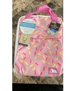 Arctic Zone Classics Upright Lunch Box Sprinkles w/ Microban Ice Pack In... - $16.82