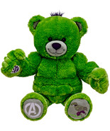New Build a Bear Incredible Hulk Avengers 17 in. Teddy Stuffed Plush Toy... - $89.95