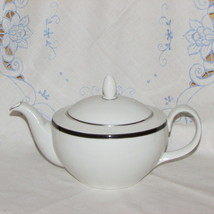 ROYAL DOULTON TEAPOT OXFORD MIDNIGHT FINE CHINA NEW ROMANCE COLLECTION P... - $56.97