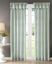"Madison Park Emilia 50"" X  84"" Faux Silk Twisted Tab Window Panel T4101090 - $28.70"
