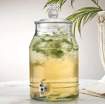 Classic Beverage Iced Dispensers Drink Pineapple Durable Glass 2 Gallon ... - $39.59