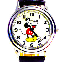 Mickey Store Disney Fossil Easy Read Mans Rare New Collectible Watch LI-2001 $99 - $97.76