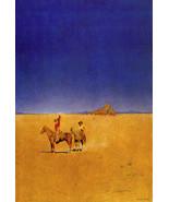 Desert Cowboys 15x22 Hand Numbered Edition Maxfield Parrish Art Deco Print - $48.50