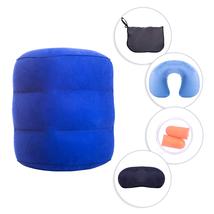 Travel Pillow Neck Pillow Sleep Mask & Ear plugs Kit Travel Accessories ... - $14.64