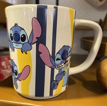 Disney Parks Colorful Stitch Ceramic Mug Cup NEW - $24.90