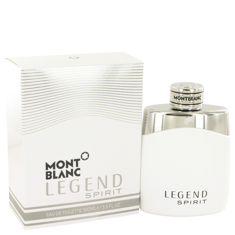 Mont Blanc Montblanc Legend Spirit Cologne 3.4 Oz Eau De Toilette Spray
