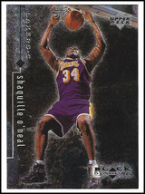 "*SHAQUILLE O'NEAL* 1999 UPPER DECK ""BLACK DIAMOND"" CARD. LOS ANGELES LAKERS - $2.00"