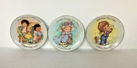 Collectors Plates Cherished Moments Mother's Day 1981, 1982, 1984 Lot of 3 - $14.80