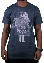 WeSC Uomo We Are Superlative Conspiracy Dark Shadow Birger Burger T-Shirt Nwt