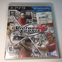 Virtua Tennis 4 (Sony Play Station 3, 2011) - Complete - Tested - $21.77