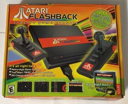 Atari Flashback Classic Game Collector's Edition Black & Red Console With Box - $24.74