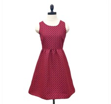 NWOT Anthropologie Lili Wang for Lili's Closet Geojacquard Dress Sz 4 small - $59.39
