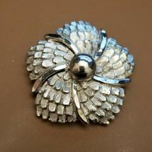 Vintage Silver Tone Scarf Clip by Lieba USA - $14.85