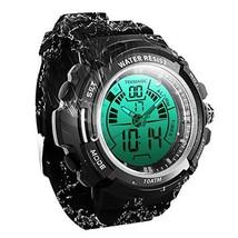 TEKMAGIC 10 ATM Digital Submersible Diving Watch 100m Water Resistant Swimming S