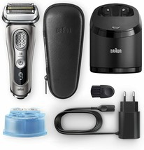 Braun series 9 9385cc electric shaver mens cleaning station and load cover - $831.85