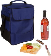 """13"""" Insulated Cooler Tote Set for Wine and Cheese by Trademark Innovatio... - $20.29"""