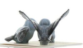 Hagen Renaker Miniature Bluebird Family Ceramic Figurine Set of 3 image 7
