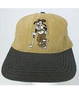 Disney Goofy Golf Hat Pluto Embroidered Baseball Cap Leather Strap  - $29.69