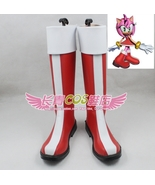 Rosy The Rascal Amy Rose SONIC BOOM  TV Series Cosplay Boots shoes shoe ... - $66.00