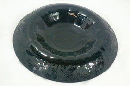 "Paden City 1920 Black Forest 12"" Round Rolled Rim Console Bowl - $82.46"