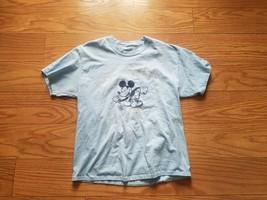 "Walt Disney World ""Best Day Ever"" Mens L Light Blue Tshirt - $5.99"